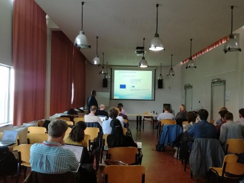 MycoSynVac partner presenting